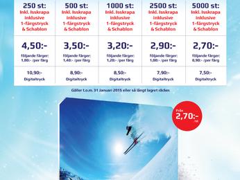 KAMPANJ - Nu är vi ännu billigare på Isskrapor!