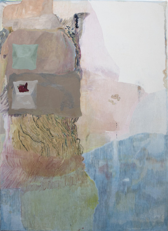 visione dall'alto, 170 x140cm , olio