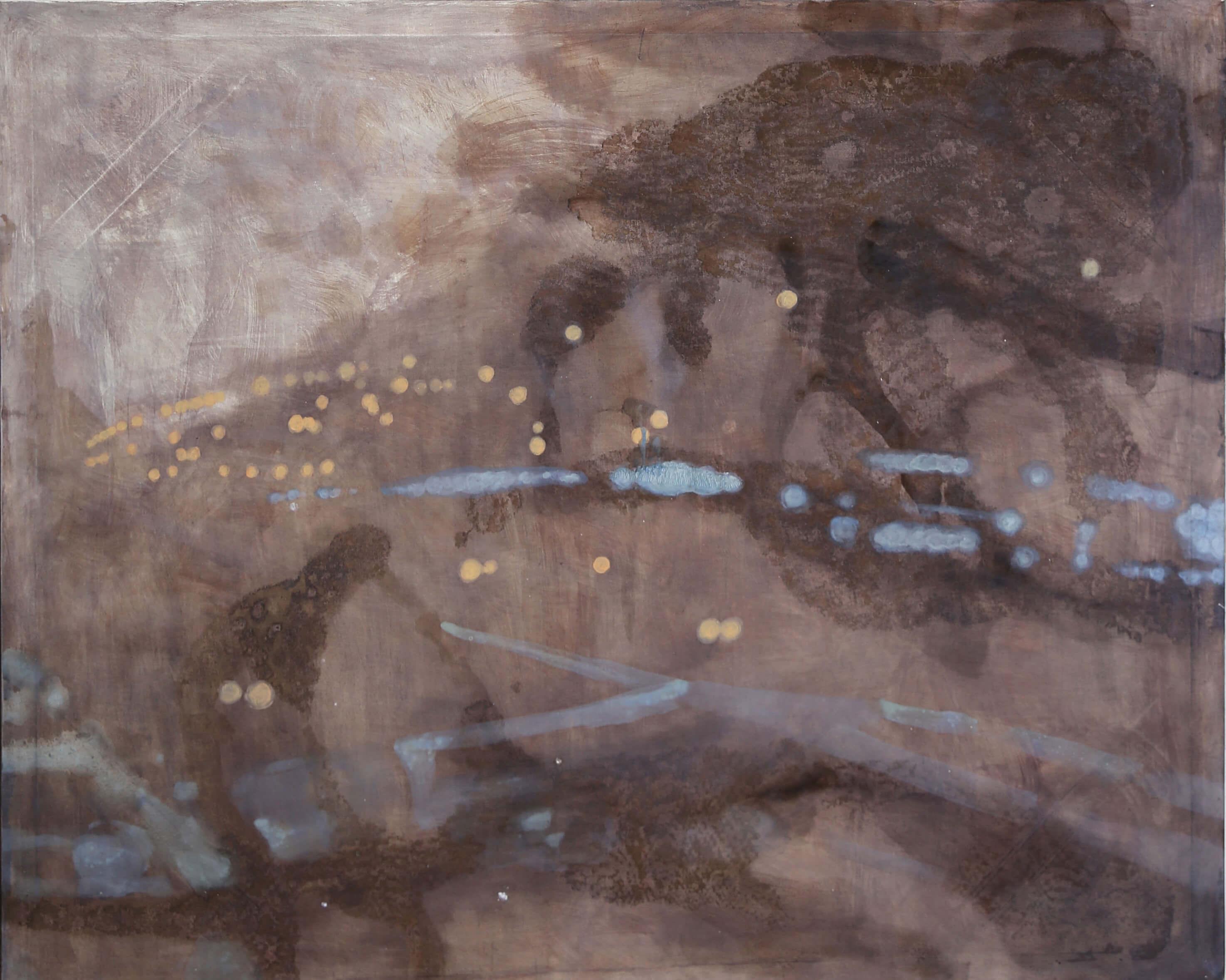 La notte bianca#4,140_170cm,olio su tela
