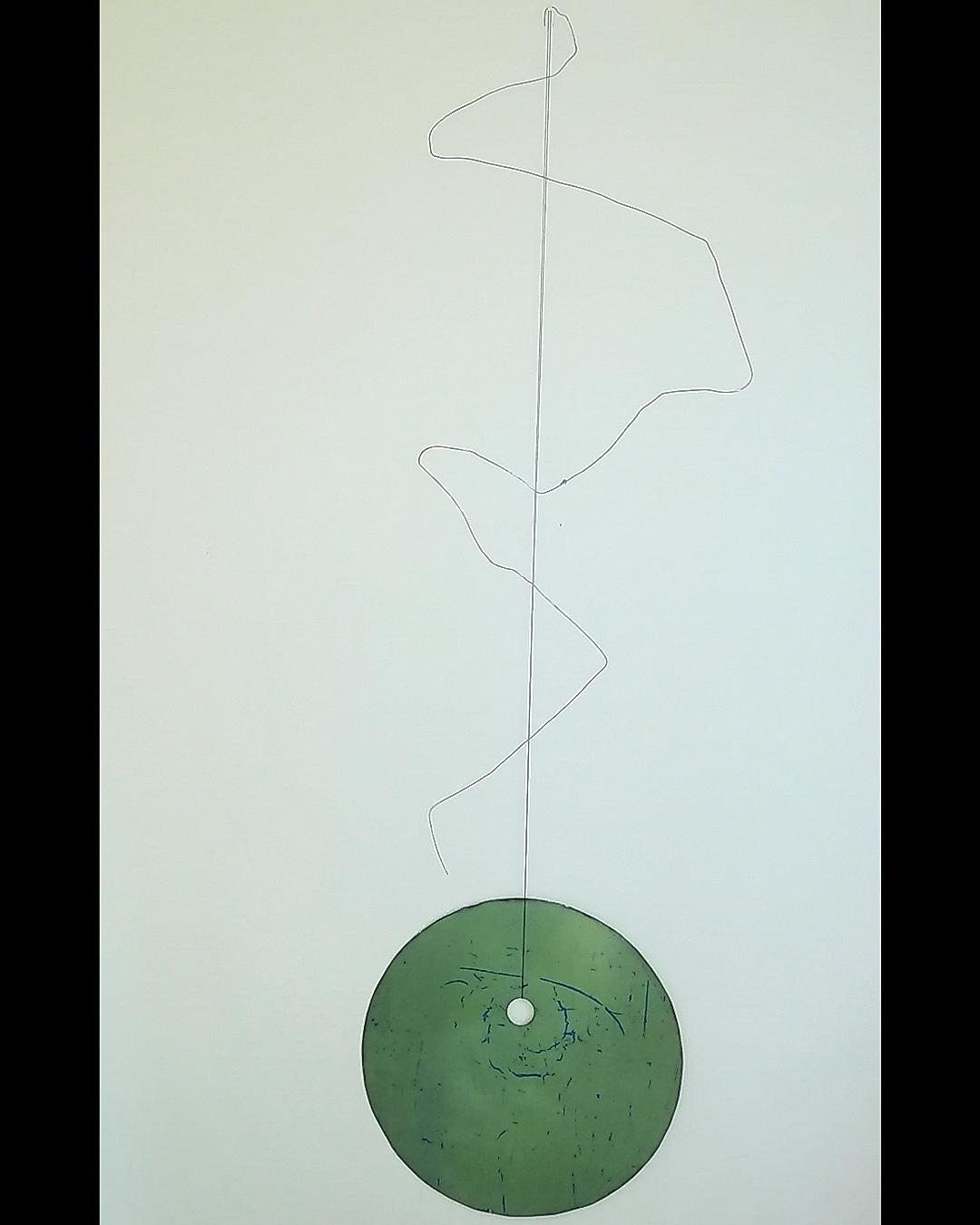 XXX X- ferro e filo di cotone- 154,5x41x