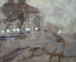 La notte bianca#5,140_170cm,olio su tela