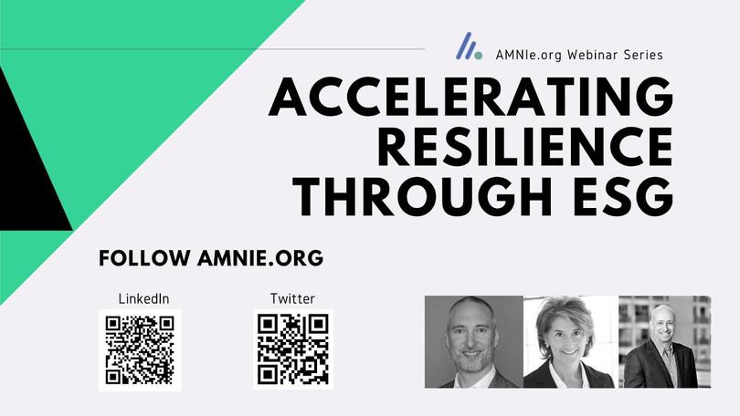 Accelerating Resilience Through ESG