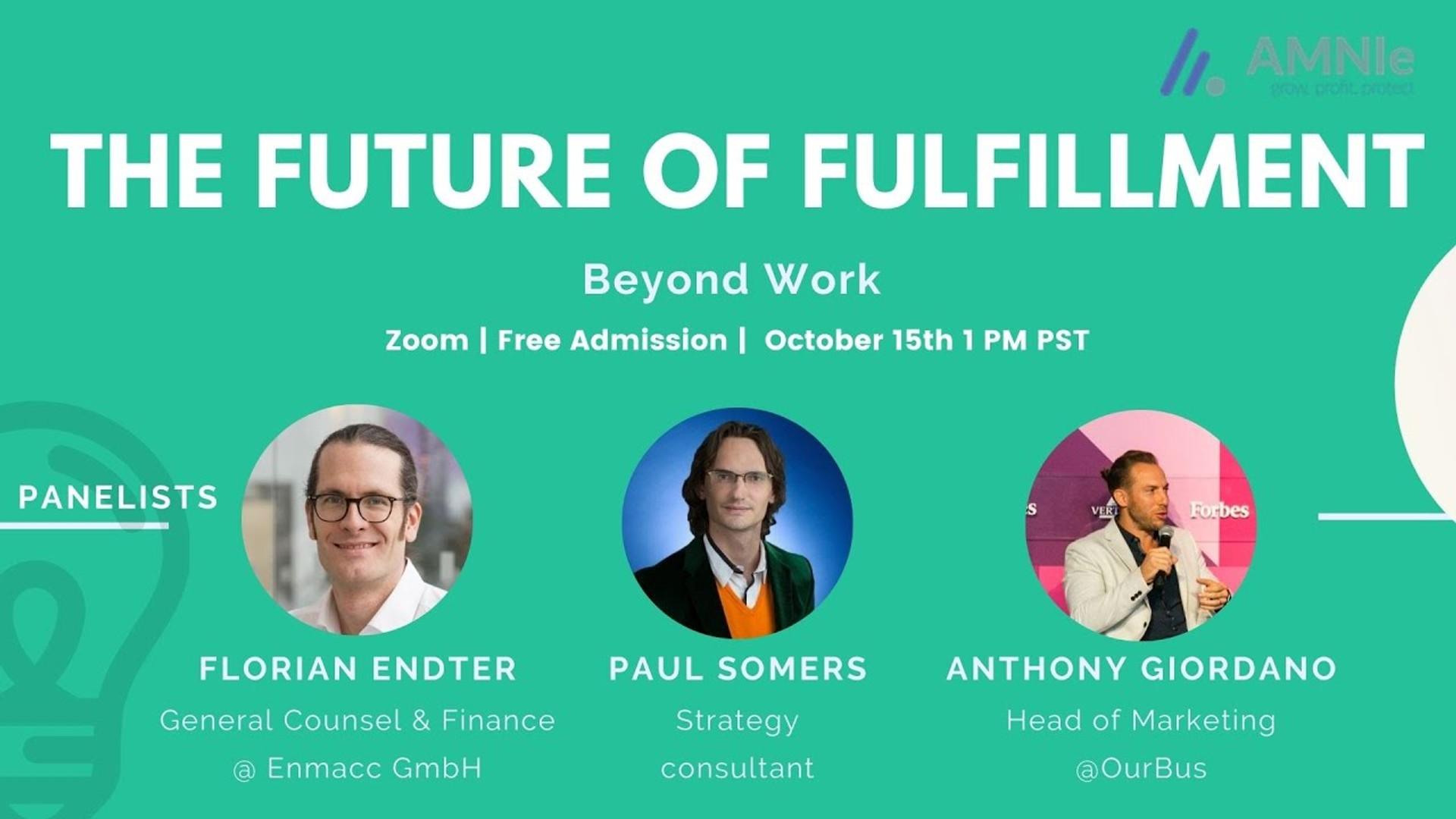 The Future of Fulfillment