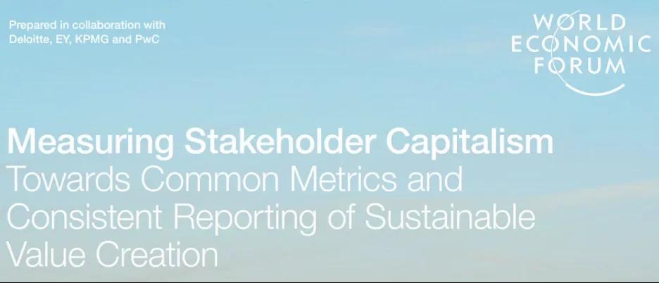 Measuring Stakeholder Capitalism