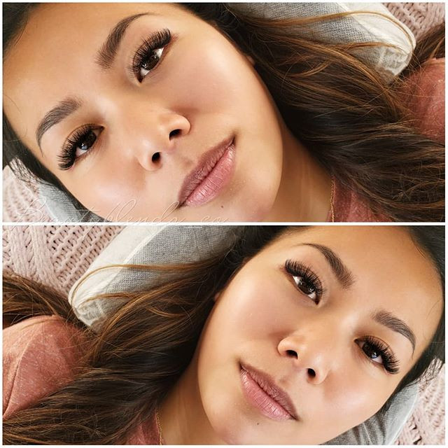 Some beautiful Hybrid Eyelash Extensions