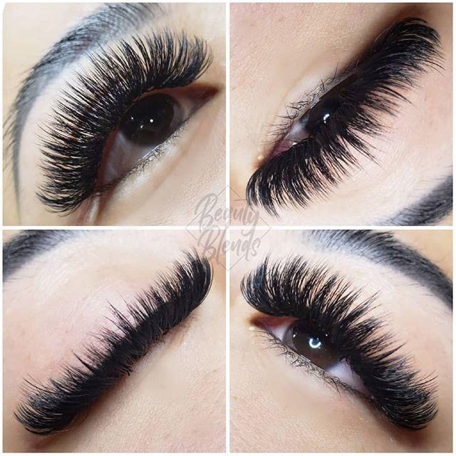 Volume eyelash extensions are my favorit