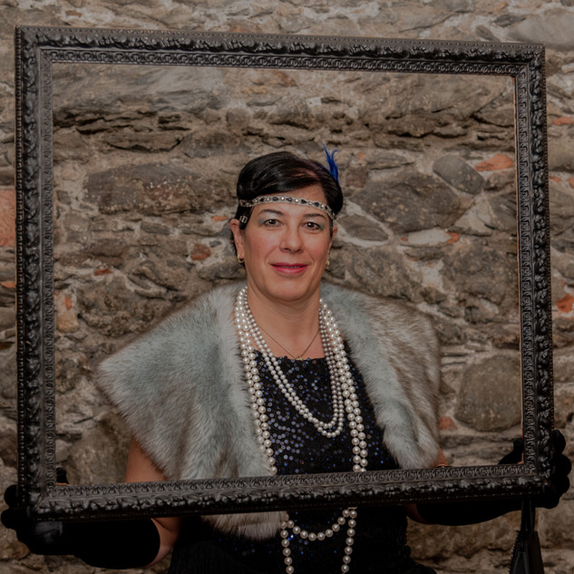 sabine in the frame