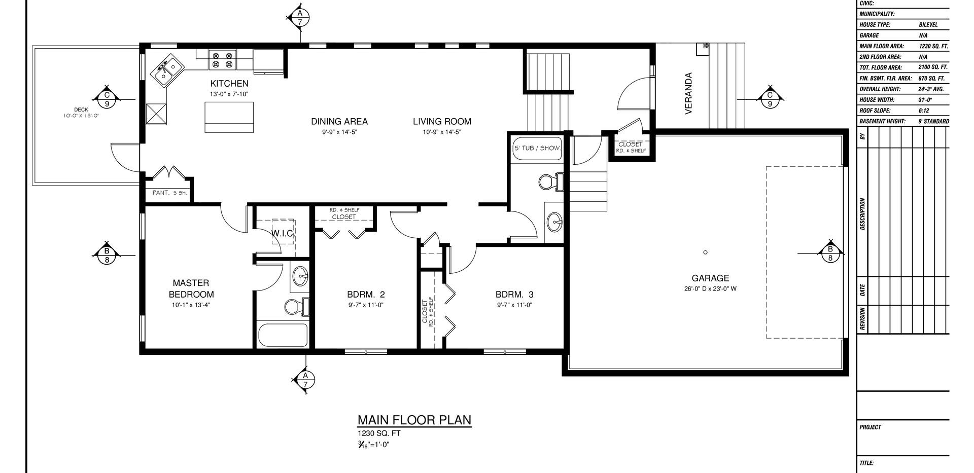 5910 Panorama Drive | Floorplan