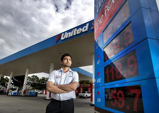 The Australian   Petrol giant accused of misleading motorists on fuel