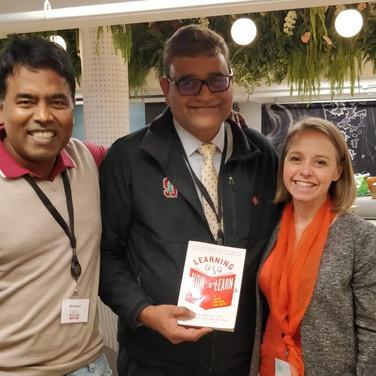 DP Prakash, Shriharsha Dhavale and Emilie White