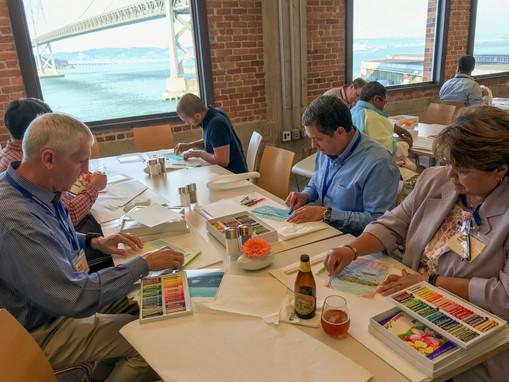"Wharton Executive Education program ""Mastering Innovation: From Idea to Value Creation"" participants"