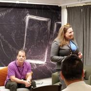 Global Innovation Prototype presentations by Lisa Sibilia, Shriharsha Dhavale, Elie Venezky and Scott Thrift
