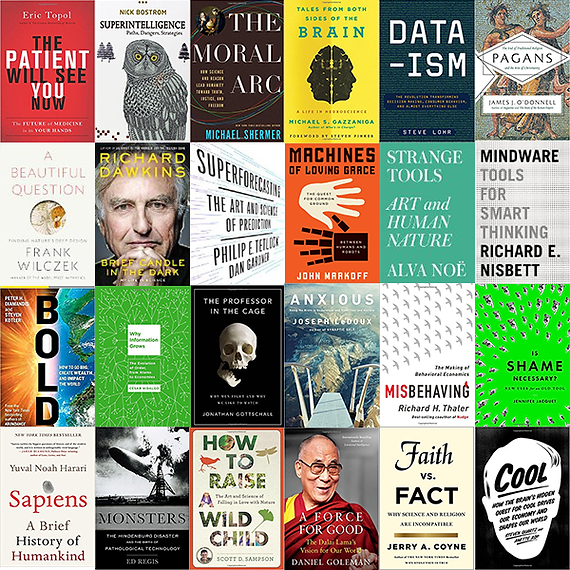 Edge Summer 2015 reading list