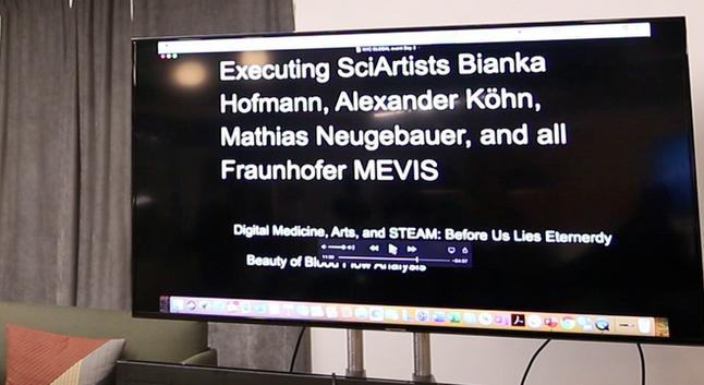 Medical visualization films by Executing SciArtists Bianka Hofmann, Alexander Köhn, Mathias Neugebauer, and all Fraunhofer MEVIS