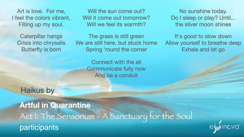 Act I - The Sensorium: A Sanctuary for the Soul