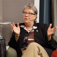 Dee Byrnes during Leadership Panel Discussion