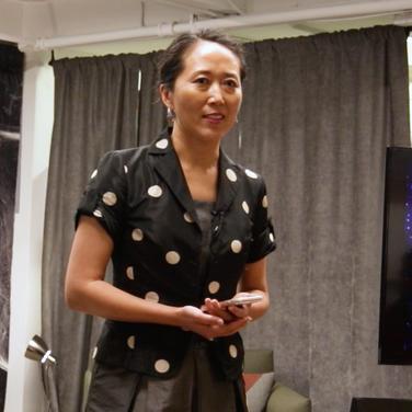 "BeiBei Song speech on ""Moonshot With Art; Leadership the Artist Way"""