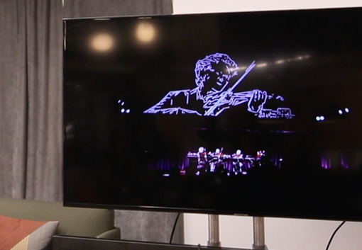 Sight Machine by Trevor Paglen, The Kronos Quartet and Obscura Digital
