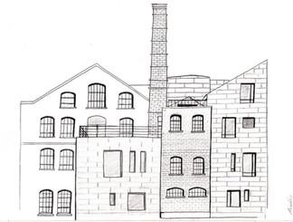Historical Building Illustration