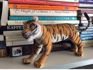 Felt Tigar Figure  Comission
