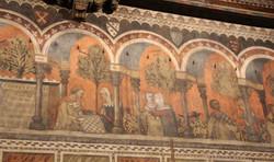 Camera_della_castellana_di_vergy,_ciclo_pittorico,_1350_circa_07