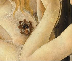 jewel botticelli painting spring florenc