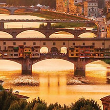 view river landscape florence walking to