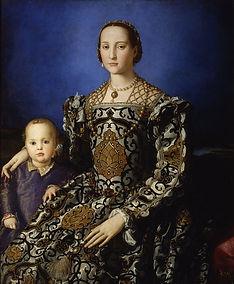 Bronzino_-_Eleonora_di_Toledo_col_figlio