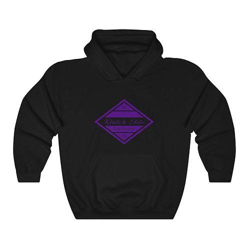 Klutch Elite Purple Logo Hoodie