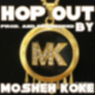 Mosheh Koke - Hop Out Cover
