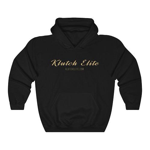 Klutch Elite Black Gold Hoodie