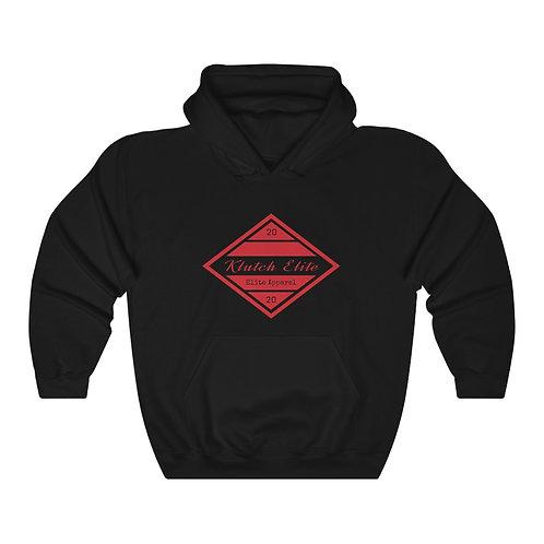 Klutch Elite Red Logo Hoodie