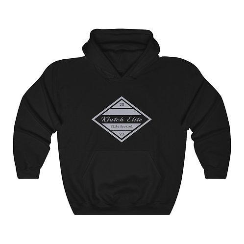 Klutch Elite Grey Logo Hoodie