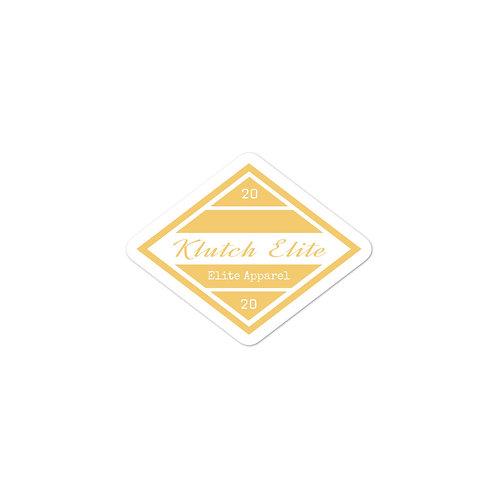 Klutch Elite OG Logo Stickers (Gold)