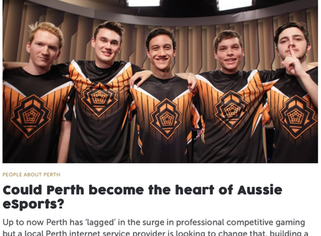 Could Perth become the heart of Aussie eSports?