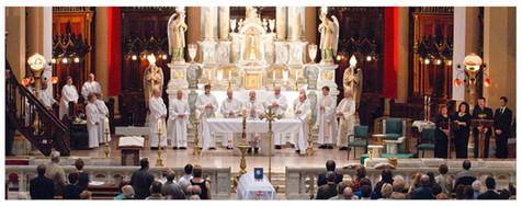 Funérailles de Mgr Philippe Morin