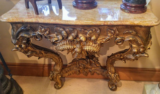 Marble Top Console