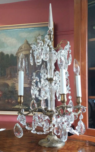 French Girandole Lamp