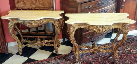 Console Tables Pair