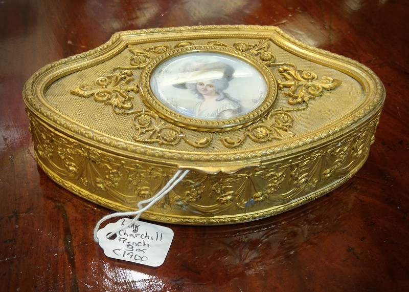 """Lady Churchill"" Box"