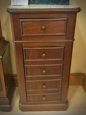 Marble Top Side Cabinet