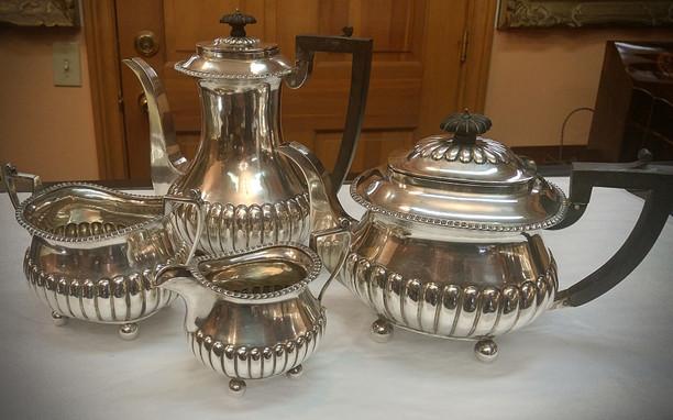 Sheffield Sterling Tea & Coffee Set