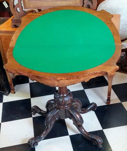 English Games Table