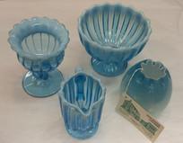 Blue Art Glass