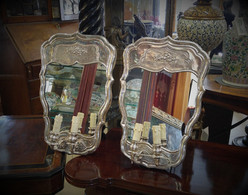 Sterling Wall Sconces  SOLD