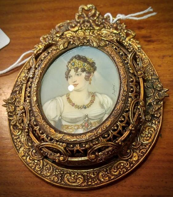 Dupre Portrait Miniature