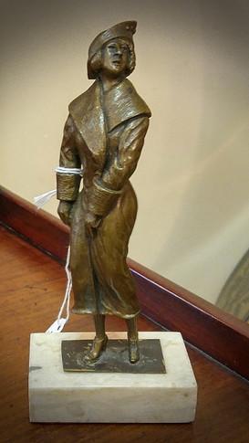 Small Art Deco Bronze