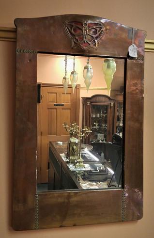 Art Nouveau Mirror  SOLD