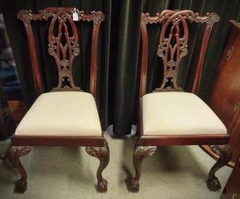 Chippendale Mahogany Chairs