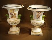 French Marbelized Vases